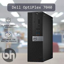 Dell OptiPlex 7040 SFF Desktop PC Win10Pro Configure upto 64GB RAM 512GB M.2 SSD