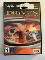 DRIVEN - PS2 - COMPLETE W/ MANUAL - FREE S/H - (T5)