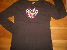 CRAZY 8 GYMBOREE SHIRT TOP SIZE LARGE 10 12 YEARS WINTER HEART VALENTINE'S DAY