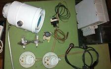 Restteile aus zerlegter Buderus GB102  (Thermostat, Schalter, Elektrode etc. )