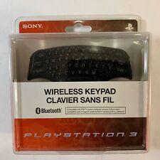 NEW! Sony PlayStation 3 Bluetooth Wireless Keypad