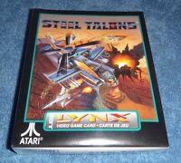Steel Talons Atari LYNX. BRAND NEW! SEALED! CIB NIB
