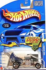 Hot Wheels 218 Baby Boomer, Stork Express, Race & Win, 2002, Cars and Cards Mint