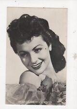 Margaret Lockwood Actress Vintage RP Postcard 490a