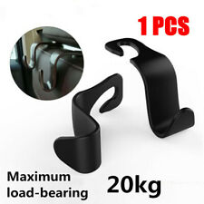 1x Black Car Seat Hook Purse Hanger Bag Organizer Holder Clip Accessories