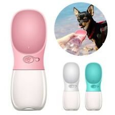 Portable Pet Dog Water Bottle For Small Large Dogs Travel Puppy Cat Drink Bowl