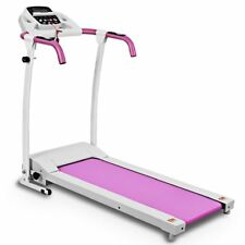 800W Folding Treadmill Electric /Support Motorized Power Running Fitness