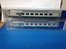 Roco 64082 - Set 2 carrozze  FS  1 Gran Confort + 1 Eurofima livrea XMPR