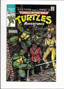 TMNT Adventures #1, 1st Appearance of Bebop, Rocksteady, and Krang