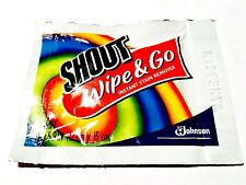 10 piece Shout Wipe & Go Instant Stain Remover Wipes single use
