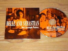 BELLE AND SEBASTIAN - DEAR CATASTROPHE WAITRESS / ADVANCE-ALBUM-CD CARDSLEAVE