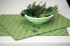 Saleen 4PCS Heat resistant Non-slip Kitchen Dining Table Placement dishwashrsafe