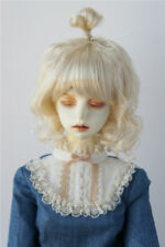8-9inch Lovely Updo Wave Synthetic Mohair Doll Wig 1/3 BJD Doll Wigs 5 colors