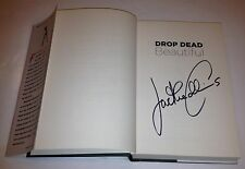 JACKIE COLLINS SIGNED BOOK DROP DEAD BEAUTIFUL NEW YORK TIMES BEST SELLER RARE