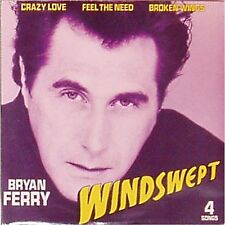 "BRYAN FERRY 'WINDSWEPT' UK PICTURE SLEEVE 7"" EP"