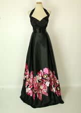 New JOVANI Authentic 14455 Black/Pink Prom Pageant Evening Gown 12 Formal Dress