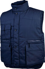 Delta Plus SIERRA Mens Padded Body Warmer Gilet Jacket Navy Blue Green Work Wear