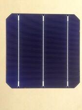 120 PCS 4.44W Monocrystalline Solar Cells 18.2%  6x6 3bb 156x156 mono DIY celle