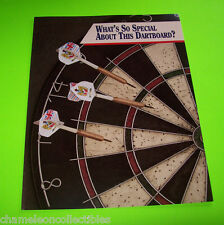 TOP DARTS ORIGINAL NOS ELECTRONIC ARCADE DART GAME SALES FLYER BROCHURE