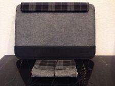 Inateck Mac Book Pro 13.3 Inch Laptop Felt Sleeve Case Bag Pouch Black Plaid