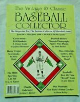(EXC) #6 (May-June 1996) Vintage & Classic Baseball Collector Magazine VCBC