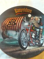 Spirits of Open Road Easyriders GHOST OF THE NORTH  Collector Plate W/COA