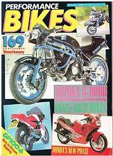 PB 86-10 BKM Ducati Pantah Kawasaki VN750 Vulcan Suzuki VS750 Intruder SPONDON