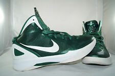 Nike Hyperdunk 2011 Gr: 45,5 - 44,5 Metallic Grün Basketball Mid High Tops