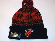 Miami Heat NBA Team Apparel New Era Snowburst beanie