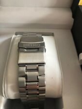 Seiko Solid Stainless Steel Strap /bracelet Straight Flat Lug Ends 20mm