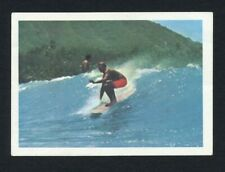 RARE 1967 Jacques SURFING TRADING CARD vintage Surf Hawaii photo Sports Insolite