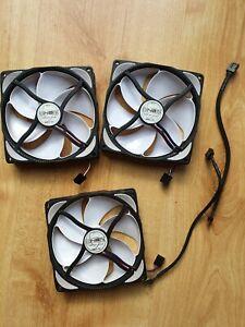 noiseblocker Nb e loop 120mm fans x3