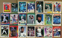 BO JACKSON LOT of 30 insert base cards NM+ 1988-1995 White Sox Topps Upper Deck