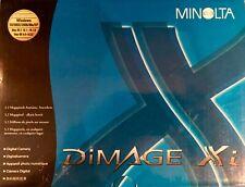 Vintage Minolta DiMage Xi 3.2Mp Digital Camera Complete 10- Piece Outfit Guc