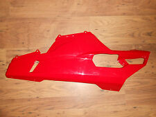 GENUINE DUCATI 848 1098 1198 ROJO IZQ. BAJO LATERAL DE CARENADO 48012281AA