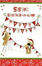 Boofle Sister & Brother-In-Law Christmas Greeting Card Special Xmas Cards