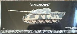 "Minichamps WWII Panzerkampfwagen V Jagdpanther ""Black 113"" Germany 1:35 Scale"