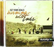 SET YOUR GOALS - BURNING AT BOTH ENDS  CD NEU