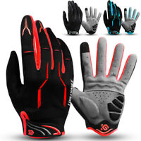 For Mountain Bike Cycling Riding Racing Hiking Touch Screens Full Finger Gloves