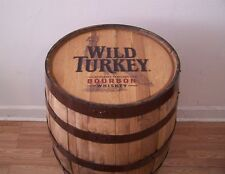 Wild Turkey Kentucky Straight Bourbon Sanded- Finished Whiskey Barrel-FREE SHIP