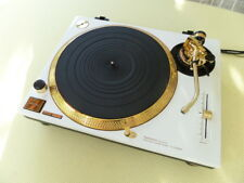 Technics sl-1200 mk3 White Gold Edition Turntable tourne-disques BLANC RARE!!!