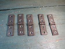 ancienne petite charniére métal meuble quincaillerie restauration french antique