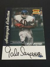 Gale Sayers 1999 Fleer Greats of the Game ON CARD Auto Bears FREE SHIP