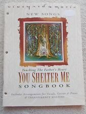 Vineyard Music You Shelter Me Songbk Voice Piano Guitar Unmarked