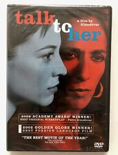 Brand New & Sealed Talk to Her (Dvd, 2003)