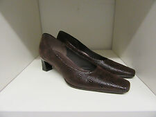 GABOR BROWN COURT SHOES SIZE 4