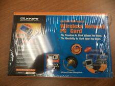 New listing Linksys Wireless Network 2.4 Ghz Pc Card Pcm Cia Model: Wpc11 Instant Wireless