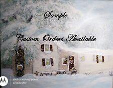 Custom Orders Original Art by Linda Shaffer 16x20