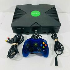 XBox Original Bundle - Console, Controller, AV Cord, Power Cord, Tested! Works!