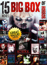 Big Box of Horror, Vol. 2: 15 Movies (DVD, 2014, 3-Disc Set)